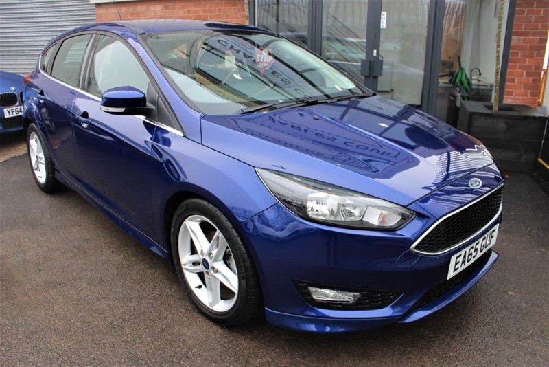 used Ford Focus ZETEC S TDCI in warrington-cheshire