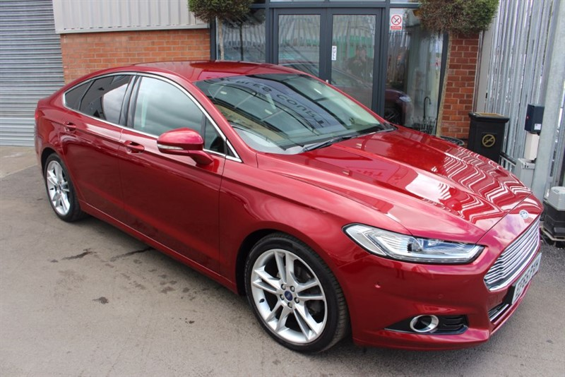used Ford Mondeo TITANIUM TDCI WITH SAT NAV in warrington-cheshire