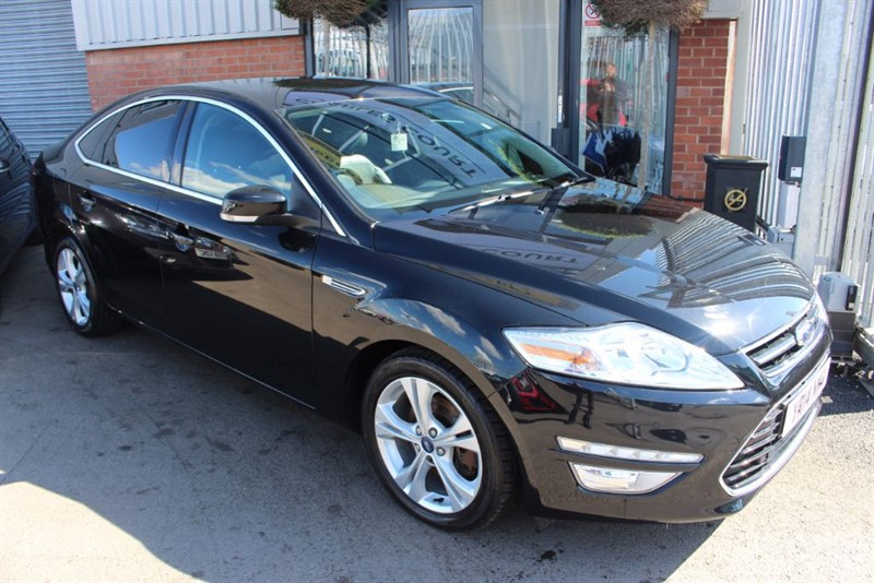 used Ford Mondeo TITANIUM X BUSINESS EDITION TDCI in warrington-cheshire