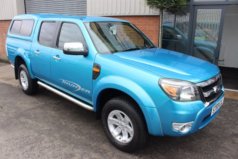 used Ford Ranger XLT 4X4 DCB TDCI-1 OWNER in warrington-cheshire