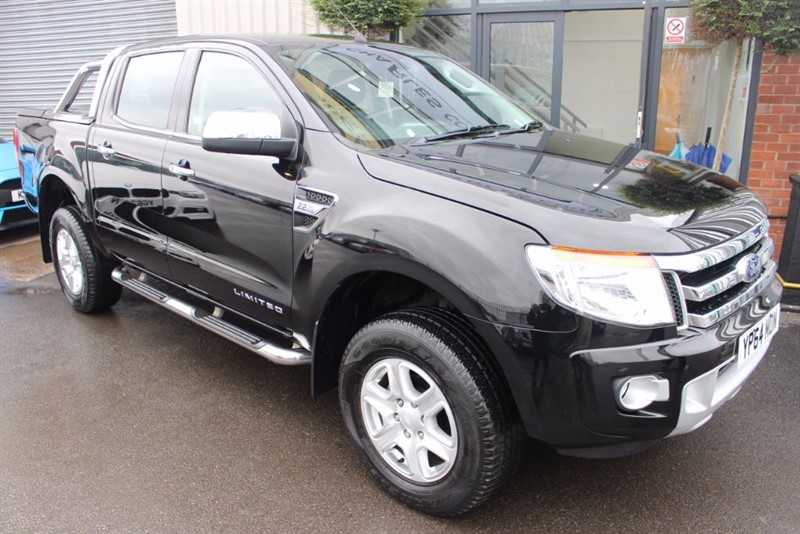 used Ford Ranger LIMITED 4X4 DCB TDCI-1OWNER in warrington-cheshire