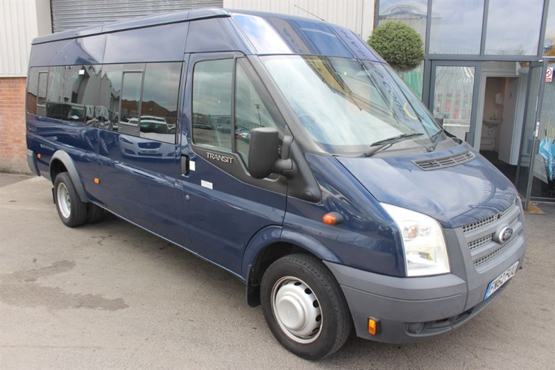 used Ford Transit 430 SHR BUS 17 SEATER NO VAT in warrington-cheshire