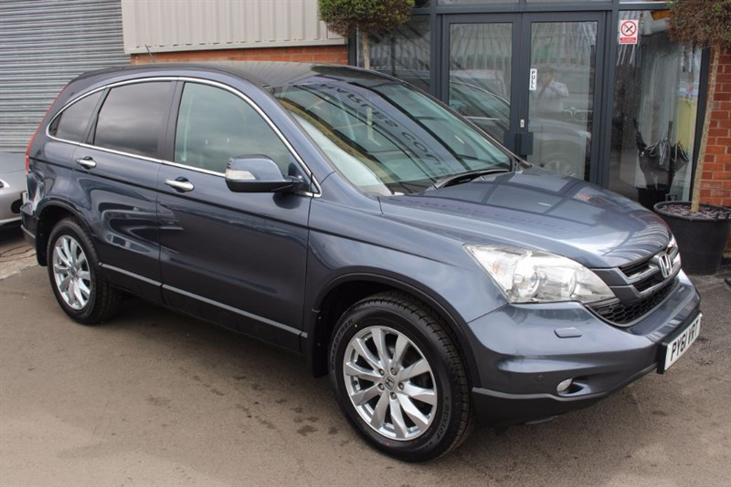 used Honda CR-V I-DTEC ES-PARKING SENSORS-AIR CON-CLIMATE CONTROL in warrington-cheshire