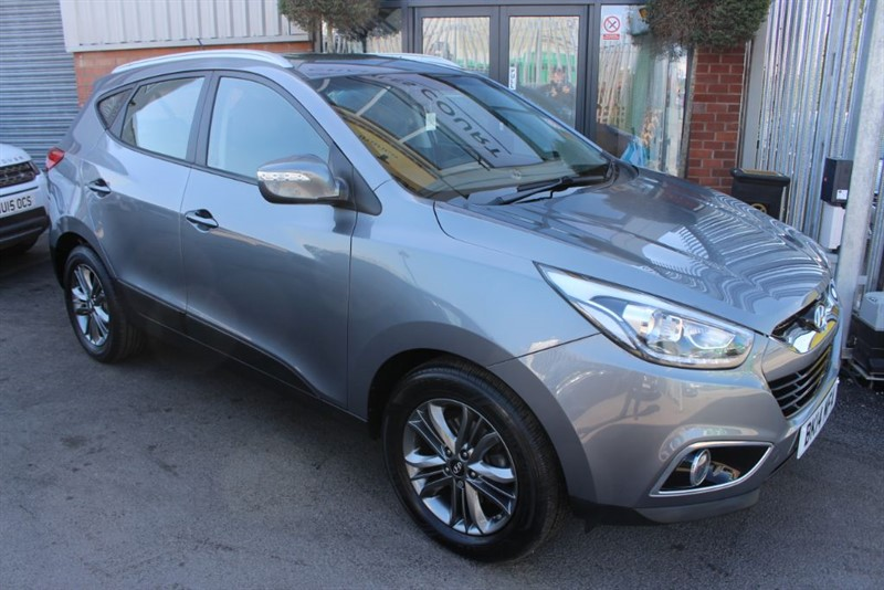used Hyundai ix35 SE CRDI-LOW MILES-GREAT MPG in warrington-cheshire