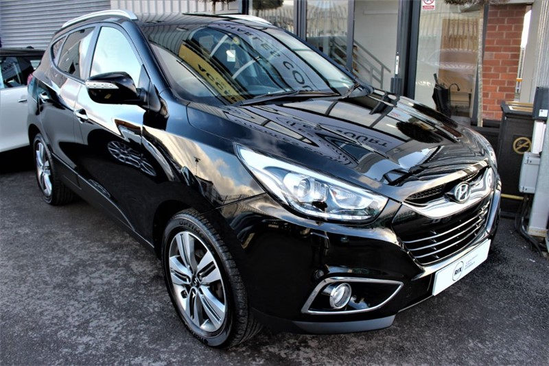 used Hyundai ix35 PREMIUM CRDI in warrington-cheshire