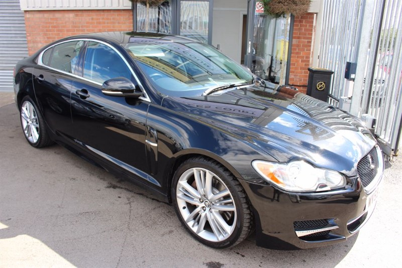 used Jaguar XF V6 S PREMIUM LUXURY in warrington-cheshire