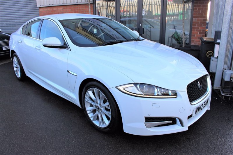 used Jaguar XF D SPORT LE-SAT NAV-REVERSE CAMERA in warrington-cheshire
