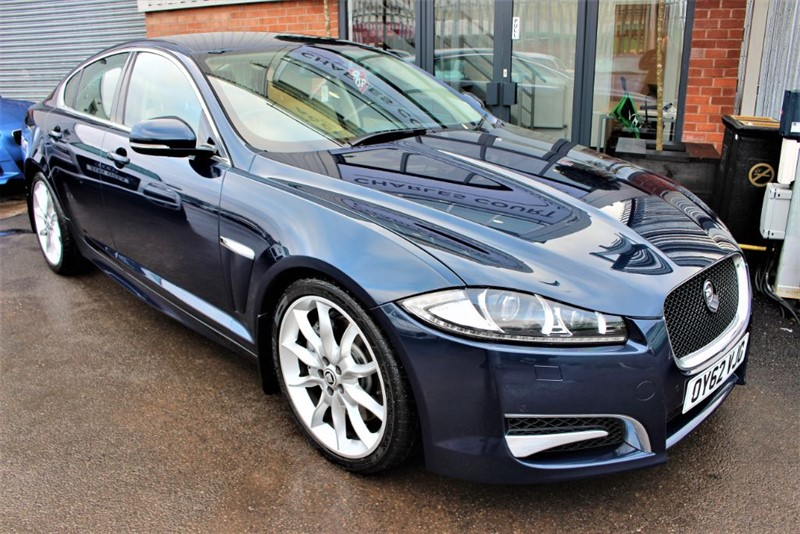 used Jaguar XF V6 S PORTFOLIO in warrington-cheshire