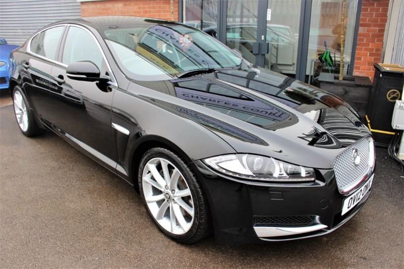 used Jaguar XF V6 PREMIUM LUXURY in warrington-cheshire