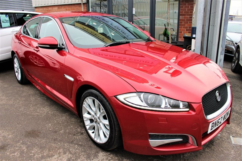 used Jaguar XF D SPORT-SAT NAV in warrington-cheshire