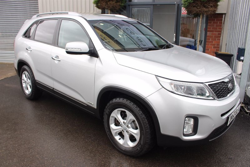 used Kia Sorento CRDI KX-2-REAR CAMERA-BLUETOOTH in warrington-cheshire