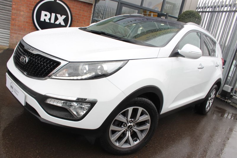 used Kia Sportage CRDI 2 ISG in warrington-cheshire