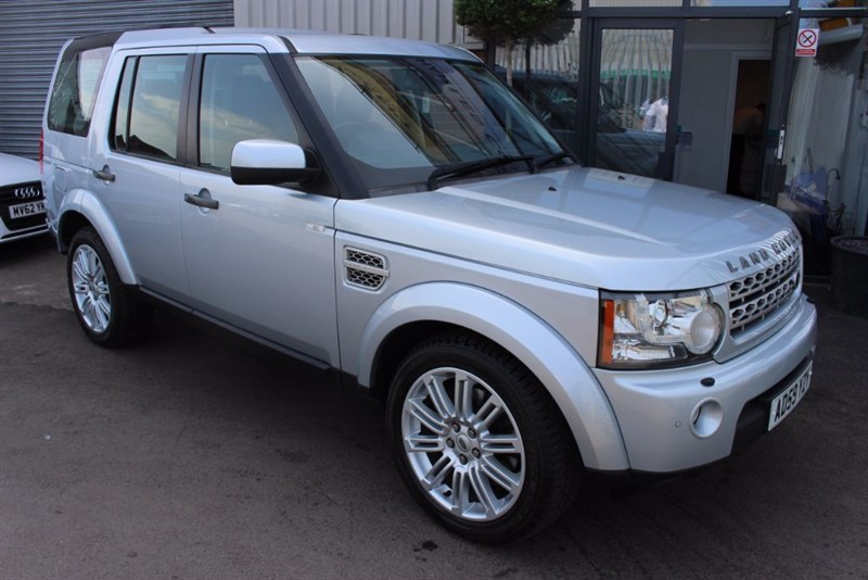 used Land Rover Discovery 4 TDV6 HSE in warrington-cheshire
