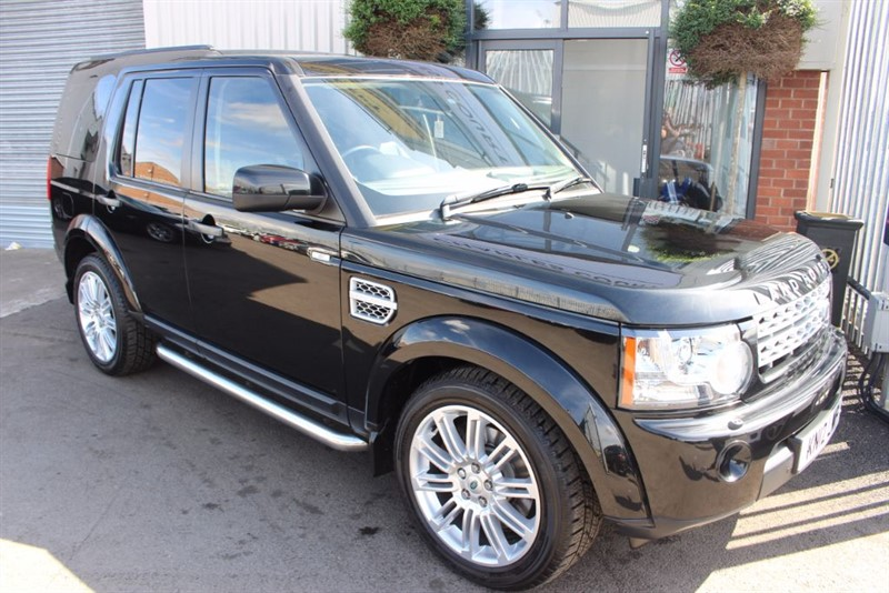 used Land Rover Discovery 4 SDV6 HSE-7 SEATS-SATNAV in warrington-cheshire