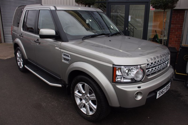 used Land Rover Discovery 4 SDV6 XS-SAT NAV-HEATED SEATS in warrington-cheshire