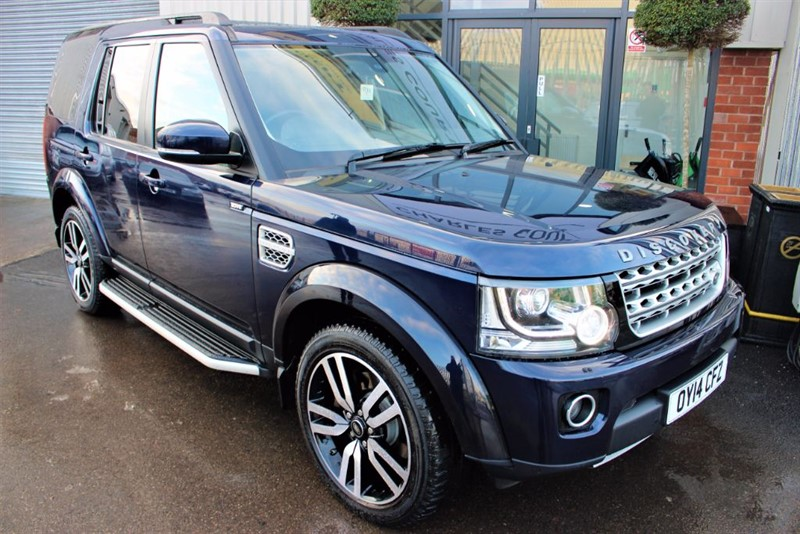 "used Land Rover Discovery SDV6 HSE LUXURY-PAN ROOF-20""ALLOYS-SAT NAV in warrington-cheshire"