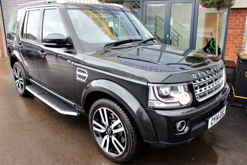 used Land Rover Discovery SDV6 HSE LUXURY in warrington-cheshire