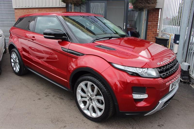 "used Land Rover Range Rover Evoque SD4 DYNAMIC-SAT NAV-20""ALLOYS in warrington-cheshire"