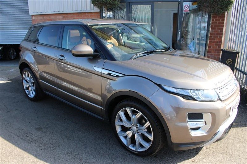 used Land Rover Range Rover Evoque SD4 AUTOBIOGRAPHY in warrington-cheshire