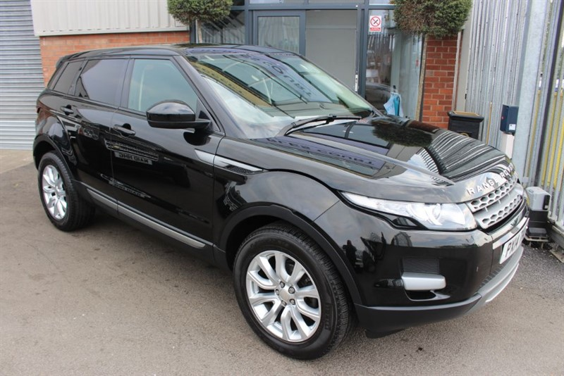 used Land Rover Range Rover Evoque SD4 PURE-1 OWNER-MERIDIAN SOUND in warrington-cheshire