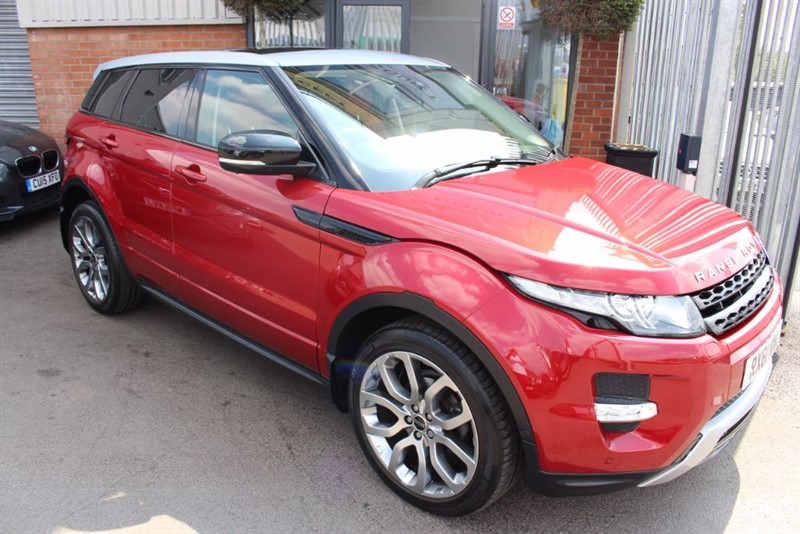 used Land Rover Range Rover Evoque SD4 DYNAMIC LUX in warrington-cheshire