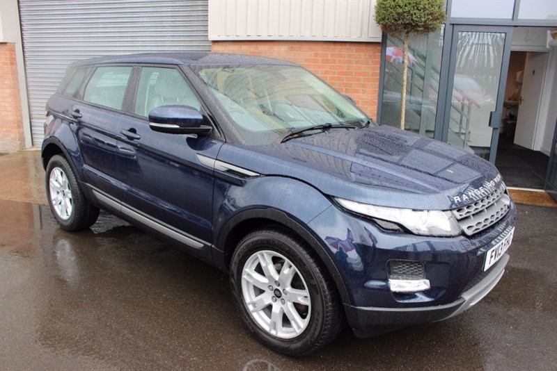 used Land Rover Range Rover Evoque SD4 PURE TECH in warrington-cheshire