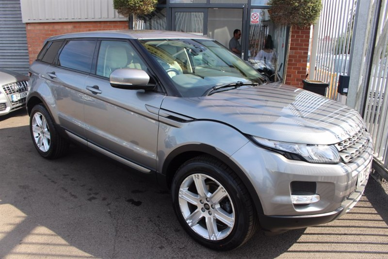 used Land Rover Range Rover Evoque ED4 PURE TECH in warrington-cheshire