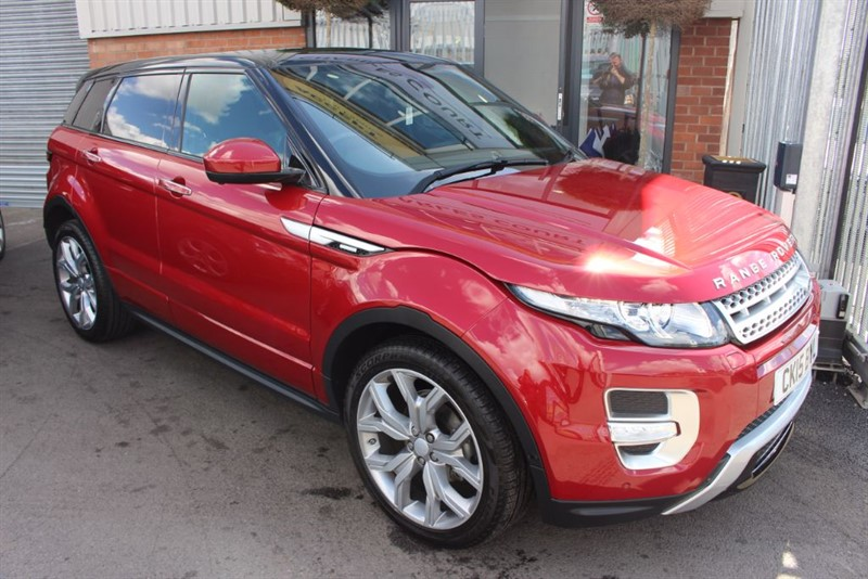 used Land Rover Range Rover Evoque SD4 AUTOBIOGRAPHY-1PRIVATE OWNER-5YR SERVICE PACK in warrington-cheshire