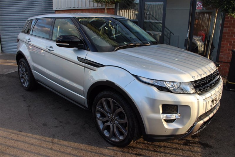 used Land Rover Range Rover Evoque SD4 DYNAMIC LUX-PANROOF-SAT NAV in warrington-cheshire