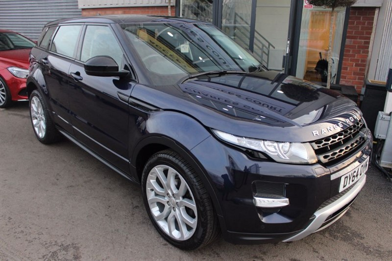 used Land Rover Range Rover Evoque SD4 DYNAMIC-SAT NAV-HEATED LEATHER-BLUETOOTH in warrington-cheshire
