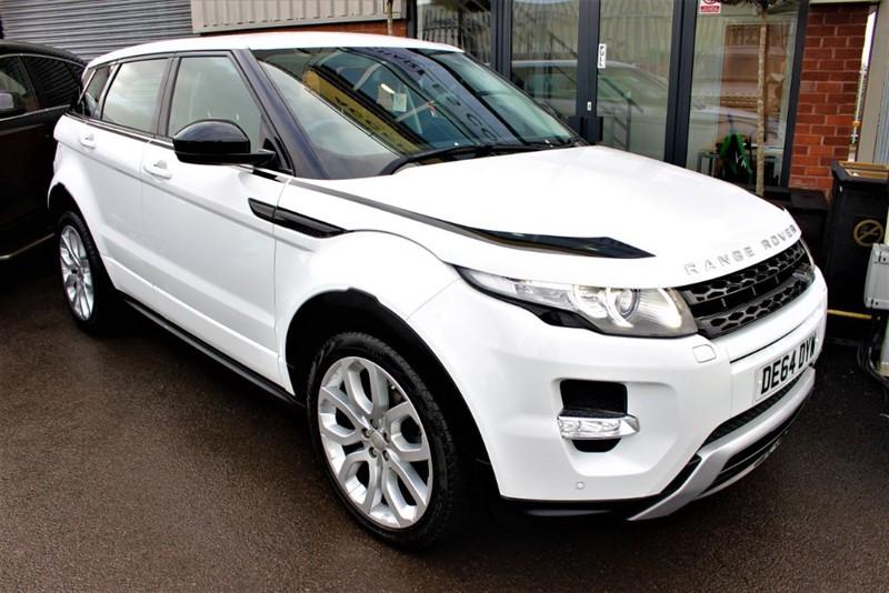 "used Land Rover Range Rover Evoque SD4 DYNAMIC-20""ALLOYS-SAT NAV in warrington-cheshire"