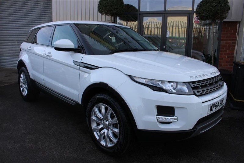 used Land Rover Range Rover Evoque SD4 PURE in warrington-cheshire