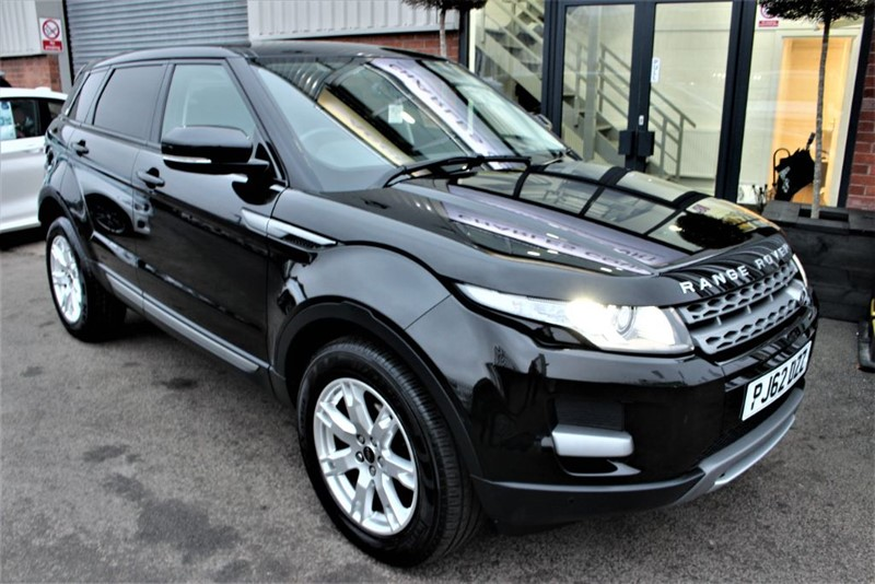 used Land Rover Range Rover Evoque TD4 PURE in warrington-cheshire