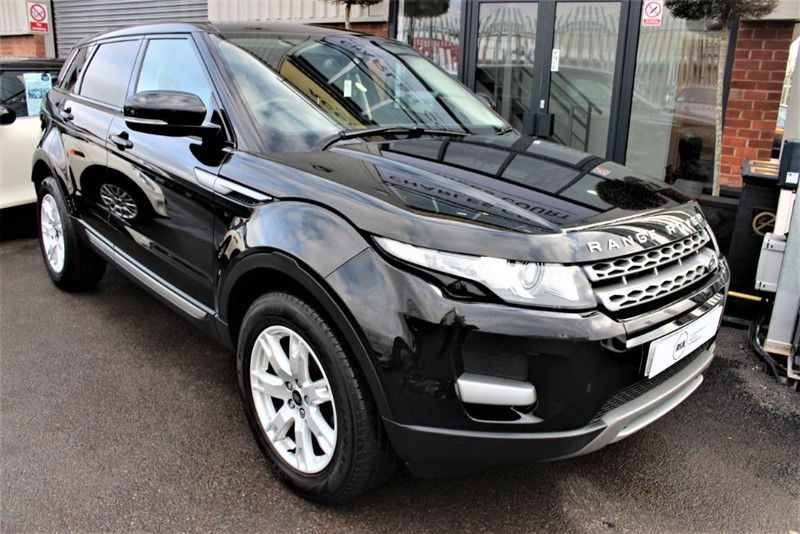 used Land Rover Range Rover Evoque ED4 PURE in warrington-cheshire