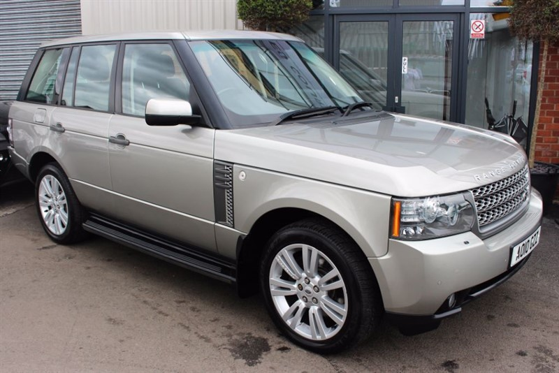 used Land Rover Range Rover TDV8 VOGUE in warrington-cheshire