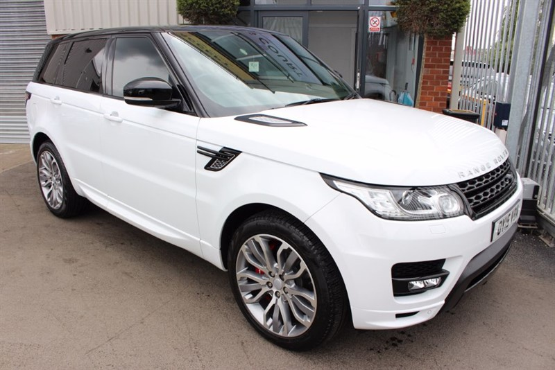 used Land Rover Range Rover Sport Autobiography Dynamic-PANROOF-REAR CAM-NAV-LOW MILEAGE in warrington-cheshire
