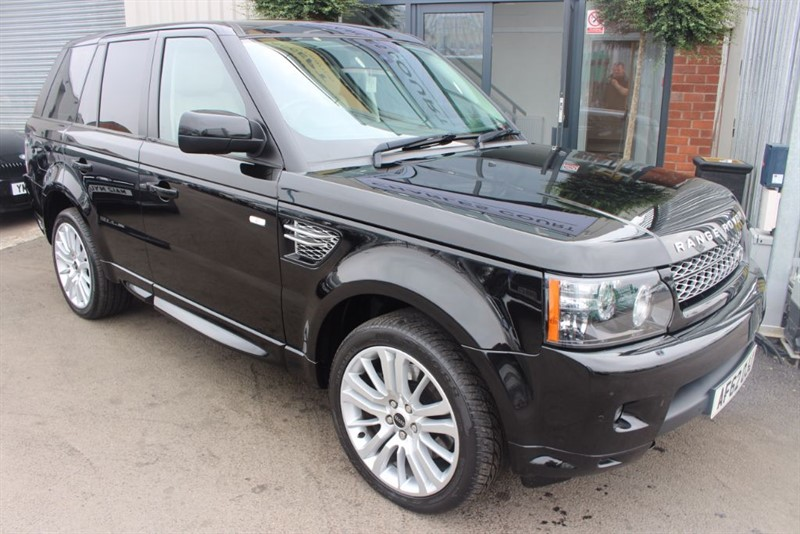 used Land Rover Range Rover Sport SDV6 HSE LUXURY-SAT NAV-HEATED SEATS in warrington-cheshire