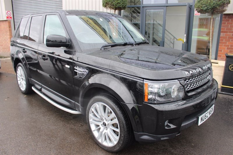 used Land Rover Range Rover Sport SDV6 HSE LUXURY-REAR CAM-BLUETOOTH-SAT NAV in warrington-cheshire