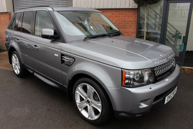 used Land Rover Range Rover Sport SDV6 HSE LUXURY in warrington-cheshire