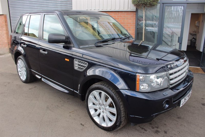 used Land Rover Range Rover Sport TDV8 SPORT HSE-SATNAV-CRUISE CONTROL in warrington-cheshire