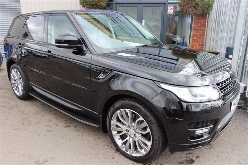 used Land Rover Range Rover Sport SDV6 HSE DYNAMIC in warrington-cheshire