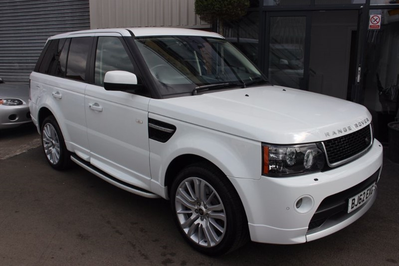 used Land Rover Range Rover Sport SDV6 HSE in warrington-cheshire