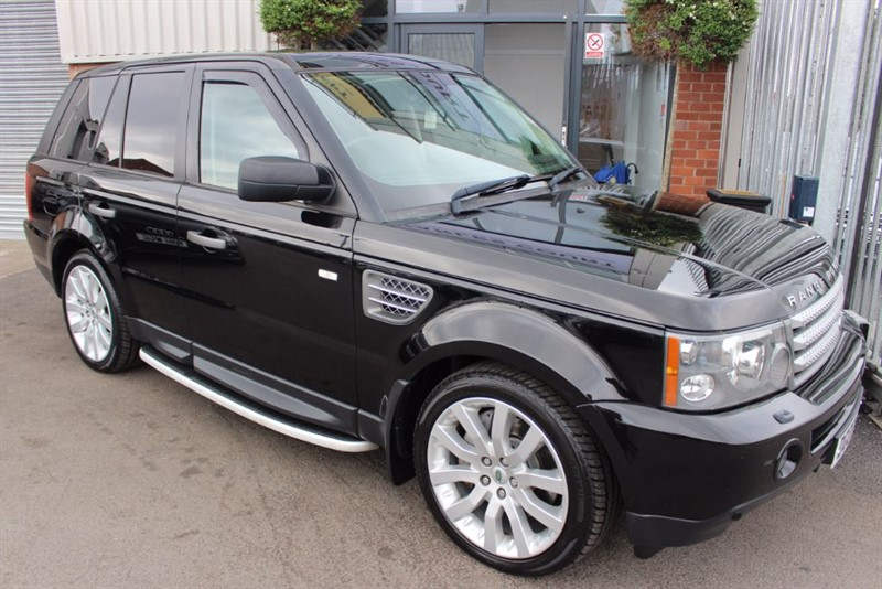 used Land Rover Range Rover Sport TDV8 SPORT HSE-CRUISE CONTROL-HEATED LEATHER in warrington-cheshire