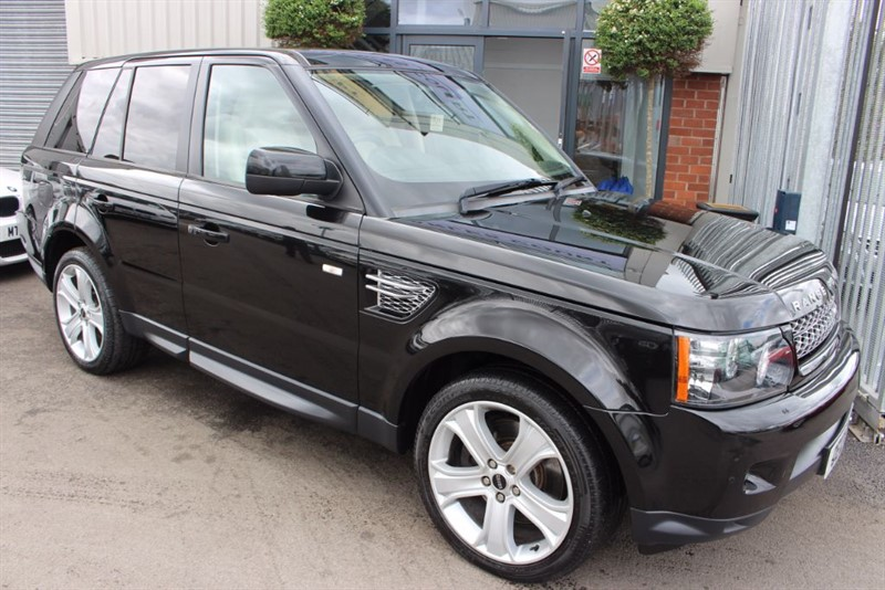 used Land Rover Range Rover Sport SDV6 HSE LUXURY-SATNAV-HEATED LEATHER in warrington-cheshire