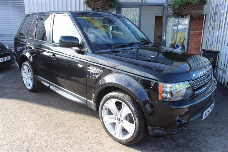 used Land Rover Range Rover Sport SDV6 HSE LUXURY-TOP SPEC in warrington-cheshire