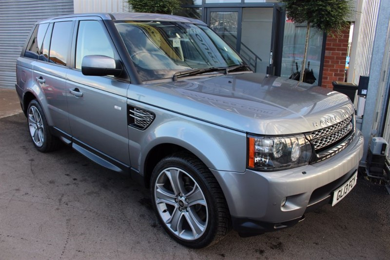 used Land Rover Range Rover Sport SDV6 HSE BLACK-1 OWNER FROM NEW in warrington-cheshire