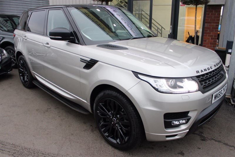 """used Land Rover Range Rover Sport SDV6 HSE-1 OWNER-PANROOF-SIDE STEPS-21"""" ALLOYS in warrington-cheshire"""