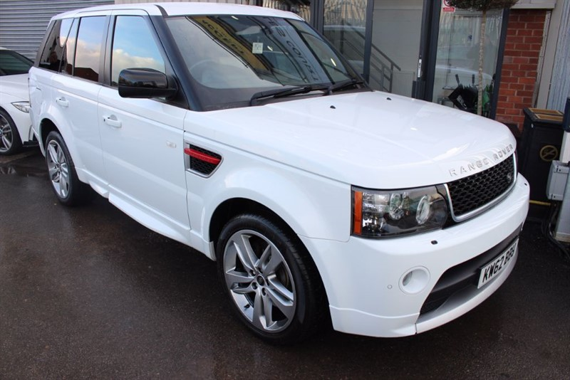 used Land Rover Range Rover Sport SDV6 HSE RED in warrington-cheshire