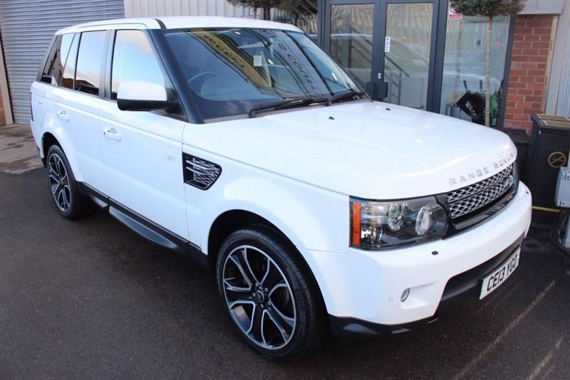 used Land Rover Range Rover Sport SDV6 HSE BLACK in warrington-cheshire