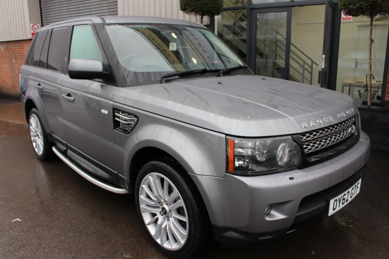 used Land Rover Range Rover Sport SDV6 HSE LUXURY-SIDE RUNNING BOARDS in warrington-cheshire